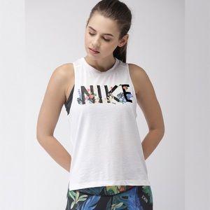 Nike 'Miler' Floral Dri-Fit Tank